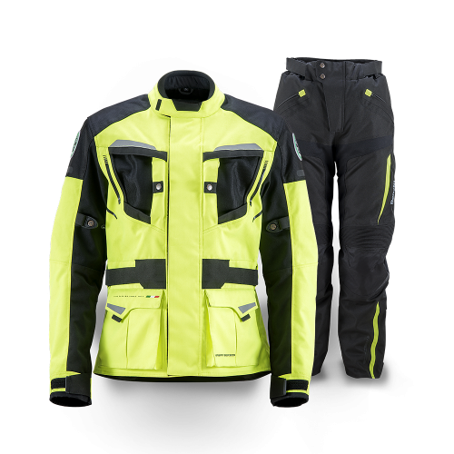 BENELLI ESSENTIAL 2-in-1 JACKET AND PANTS FLURO YELLOW/BLACK
