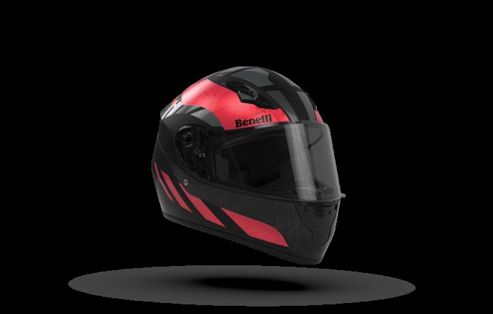 KV-09 Helmet (Red/Black)